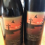 Northwest Totem Cellars wine at Mike's Cafe and Wine Bar at Friday Harbor, San Juan Islands, WA