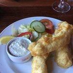 Cod goujon with horseradish