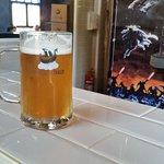 Cervejaria Traum local agradável com som diversificado, diversos tipos de cerveja e alguns tira-