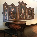 In the Music Room, the same panels Wine, Women, and Song.