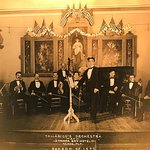 1909 Photo of the Orchestra playing at the Tampa Bay Hotel.