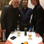 Dinner with Chuck Leavell and his lovely wife Rose Lane, greatest piano player for rolling stone