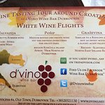 wine flight description
