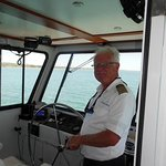 Captain Ralph, our guide and skipper
