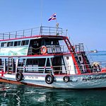 The most well appointed boat on Koh Tao.