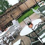 Pub garden now open