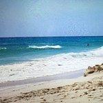 Playa zona hotel Riu