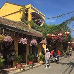 The interesting historic Old Town of Hoi An