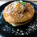 Pineapple Pandan Pancakes