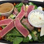 Seared Ahi Tuna Salad perfection
