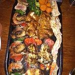 Dinner for two..lobster, crab, shrimp.....