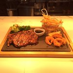 Steak rib grill with our ledgenary glaze