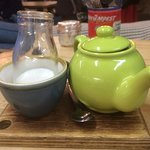 tea in a pot