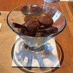 sobremesa com chocolate trufado