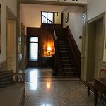 The calm entrance hall