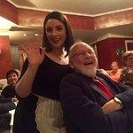 'Carmen' with my husband!