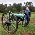 Rebel Canon at Manassas