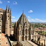 Tejados y azoteas de la Catedral Nueva