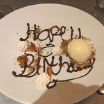 This surprise was produced at the end of the birthday celebration and was very much appreciated