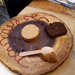 Foie gras, pain d'épice