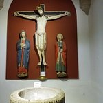 Cristo de los 4 clavos con la Virgen María y San Juan