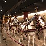 Le musée des voitures du Vatican