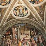 Chambres de Raphaël-Salle de l'incendie du Borgo