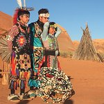 Good explanation of customs and traditions of the Dine (Navajo). Pow-wow dancing. Rug weaving. E