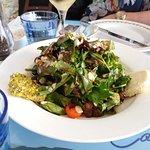 πράσινη σαλάτα γκερεμεζι