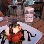 Heirloom Tomato - Fresh burrata, balsamic reduction.  Simply perfect!