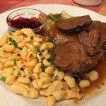 Dinner at Zum Hechten. We absolutely loved it!