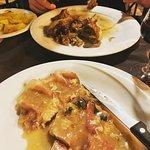 Secondi, lamb and saltimbocca