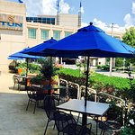 Come enjoy great food and drinks on our patio!