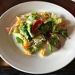 Salad with Wontons and Citrus Vinaigrette - Ohana