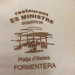 Foto de Restaurante Es Ministre
