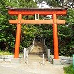 八雲神社への入り口。
