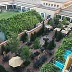 Hotel Patio area
