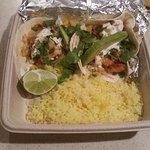 Tacos with shrimp