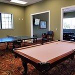 Billiard Room within Registration Complex