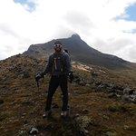 Hiking near the Corazon Volcano (4788 m) ridge