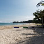 Nai Yang Beach is about 800 meters long and up to 50 meters wide.
