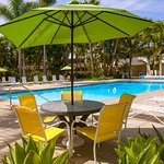 Poolside at Lemon Tree Inn