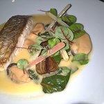 Roast snapper in cider - main course