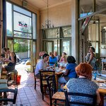 Sidewalk Cafe Interior