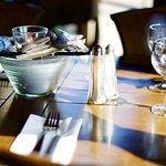 De hyggelige siddepladser - Restaurant Freja, Hasmark Strand Camping