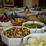 Salatbaren - Restaurant Freja, Hasmark Strand Camping