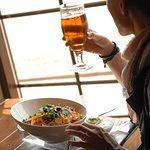 Nyd din mad til en fin udsigt - Restaurant Freja, Hasmark Strand Camping