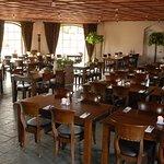 Restaurantens indendørs siddepladser - Restaurant Freja, Hasmark Strand Camping