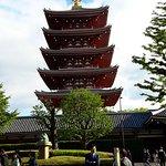 Sensoji Temple Pagoda