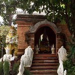 A holy site for Buddhist pilgrims